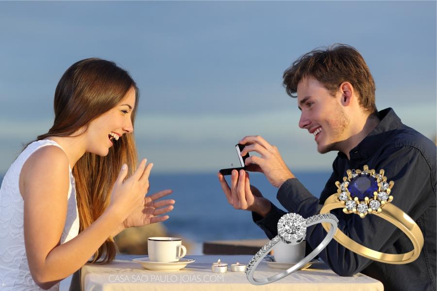 Como fazer o pedido de casamento?