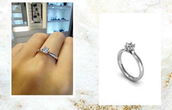 5 anéis de noivado maravilhosos com diamantes